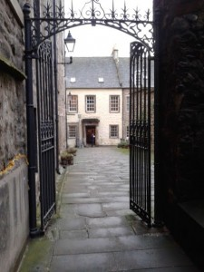 The pearly gates to Canongate HQ